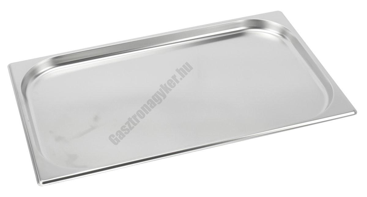 Gn edény 1/1 20 mm (32,5×53×2 cm) 2,5 liter rozsdamentes tepsi