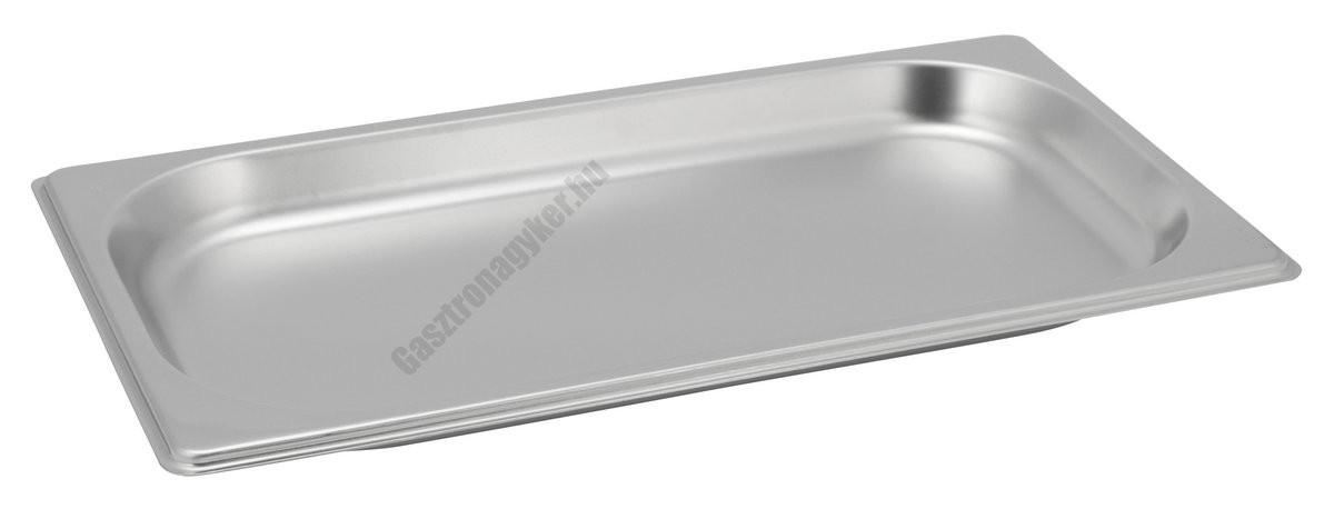 GN edény, 1/3 20 mm, 0,75 l, rozsdamentes