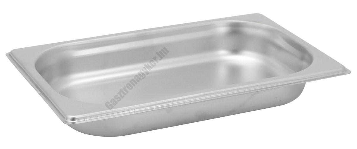 Gn edény 1/4 40 mm (16,2×26,5×4 cm) 1,2 liter rozsdamentes