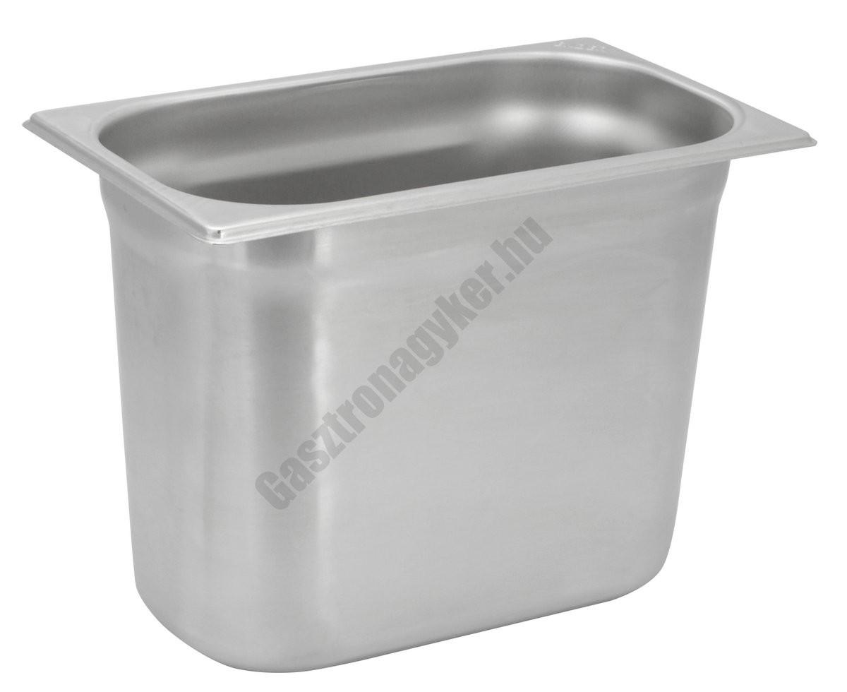 Gn edény 1/4 200 mm (16,2×26,5×20 cm) 5,5 liter rozsdamentes