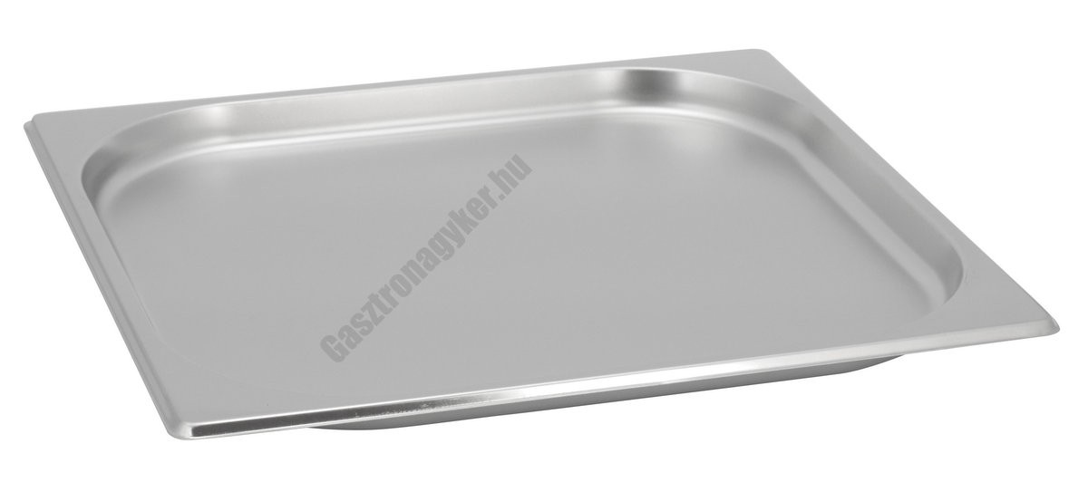 GN edény 2/3 20 mm (32,5×35,4×2 cm) 1,5 liter rozsdamentes tepsi