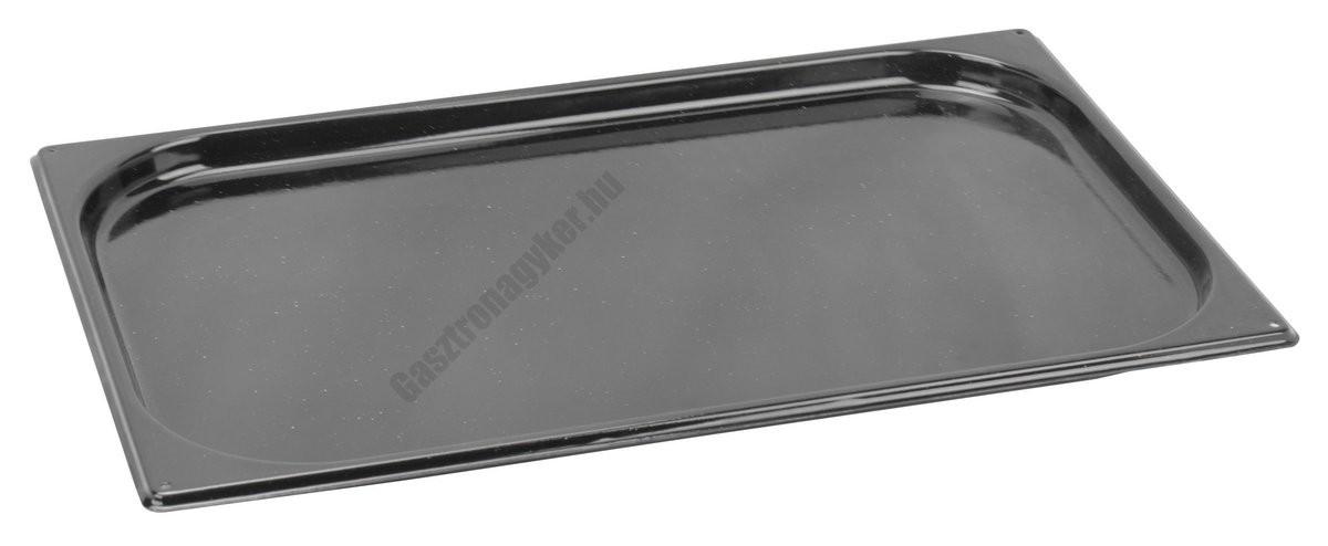 Sütőtepsi, zománcozott Gn 1/1 20 mm (32,5×53×2 cm)