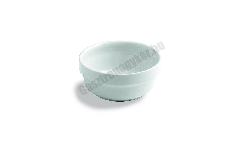 Capri kompótos tálka, 15xH7 cm, 750 ml, porcelán