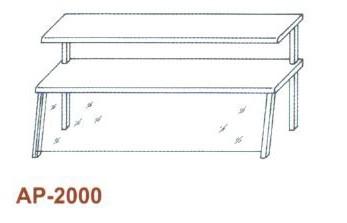 Kétsoros átadópolc RM, 1 fm AP-2000