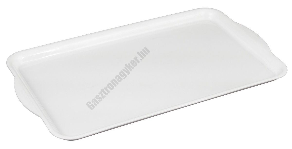 Műanyag füles tálca, kicsi méret, 31×18 cm