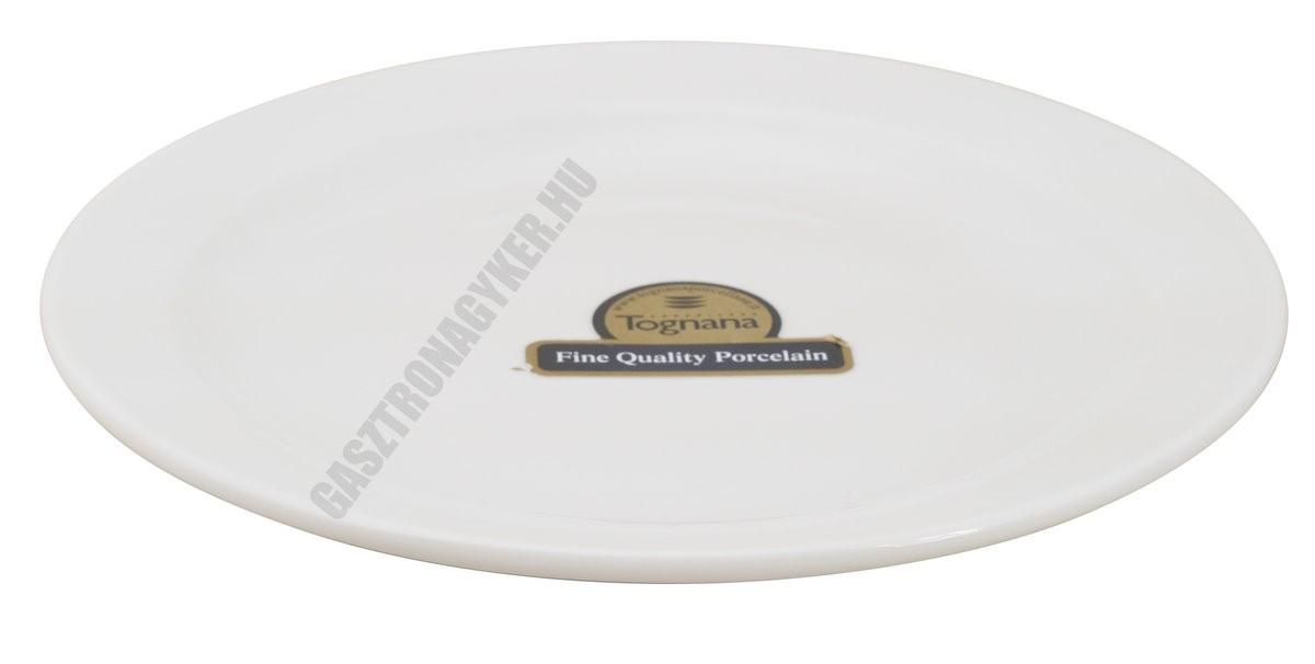 Basic lapostányér 20 cm, porcelán