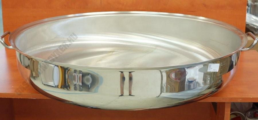 Bécsi szeletsütő 75 liter 80×17 cm, rozsdamentes