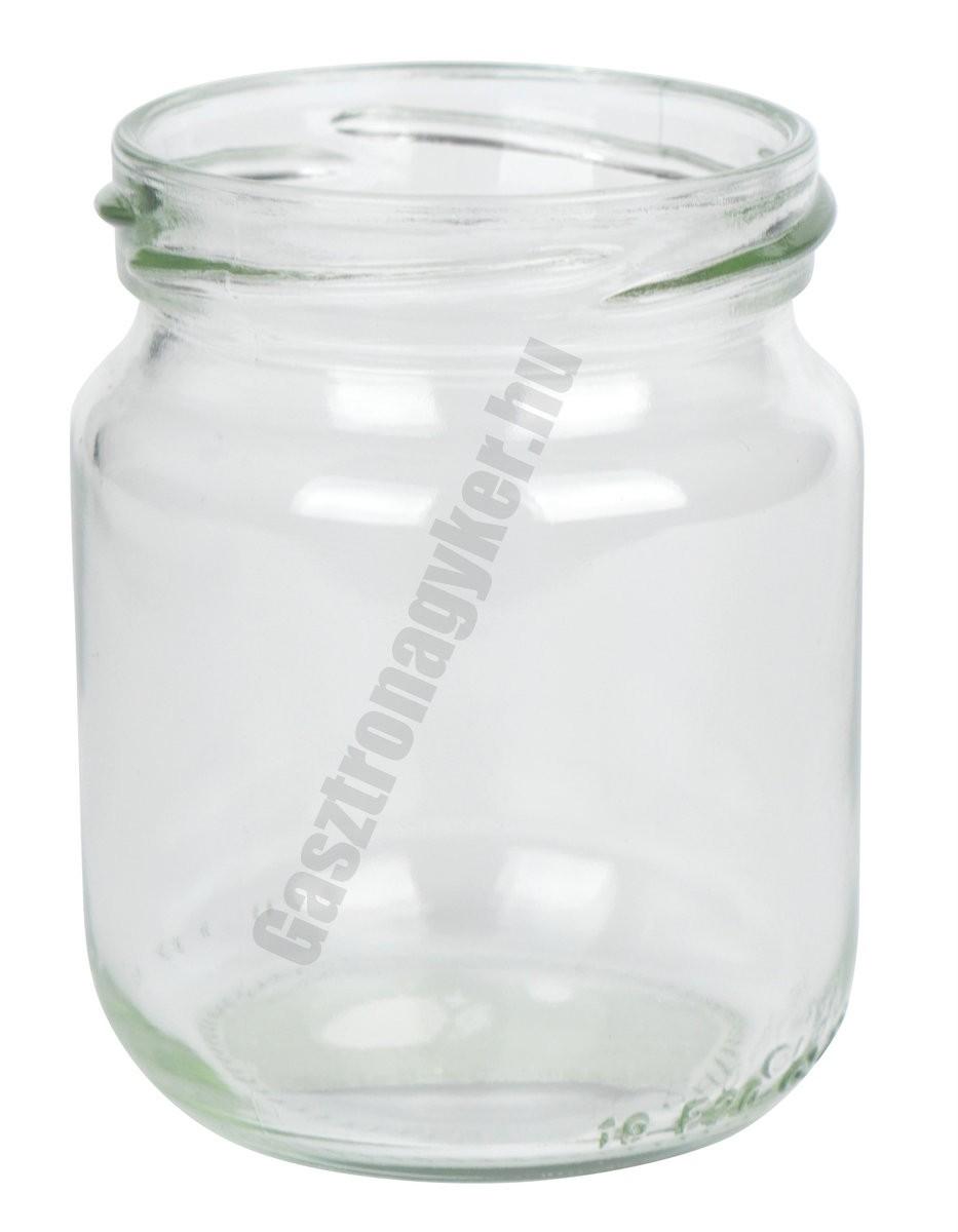 Befőttesüveg  220 ml tető nélkül 150 db/karton