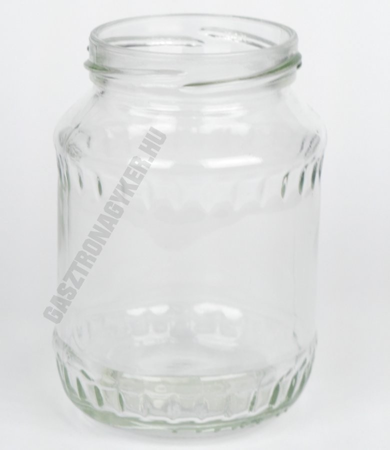 Befőttesüveg  370 ml. 100 db/karton, tető nélkül