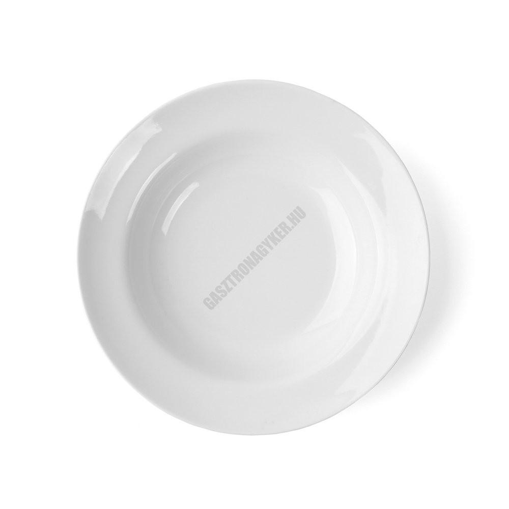Basic mélytányér, 23 cm, 400 ml, kemény porcelán