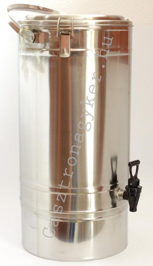 Duplafalú italtermosz 10 lit. 30×32 cm