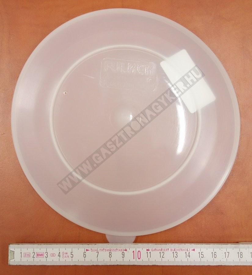 Levestálka fedő 19 cm polietilén