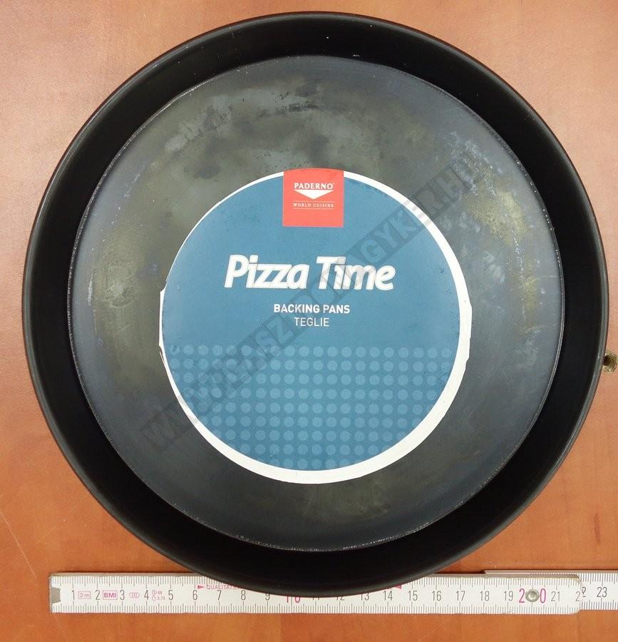 Pizzaforma 22 cm kékvas