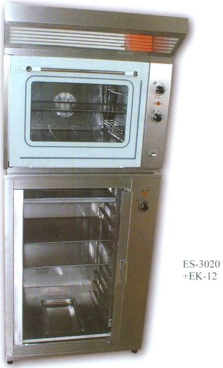 Légkeveréses sütő párologtatóval ES-3020