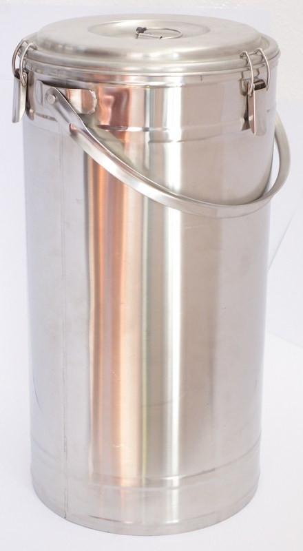 Badella, ételszállító, 30 liter, duplafalú, 30×58 cm, rozsdamentes