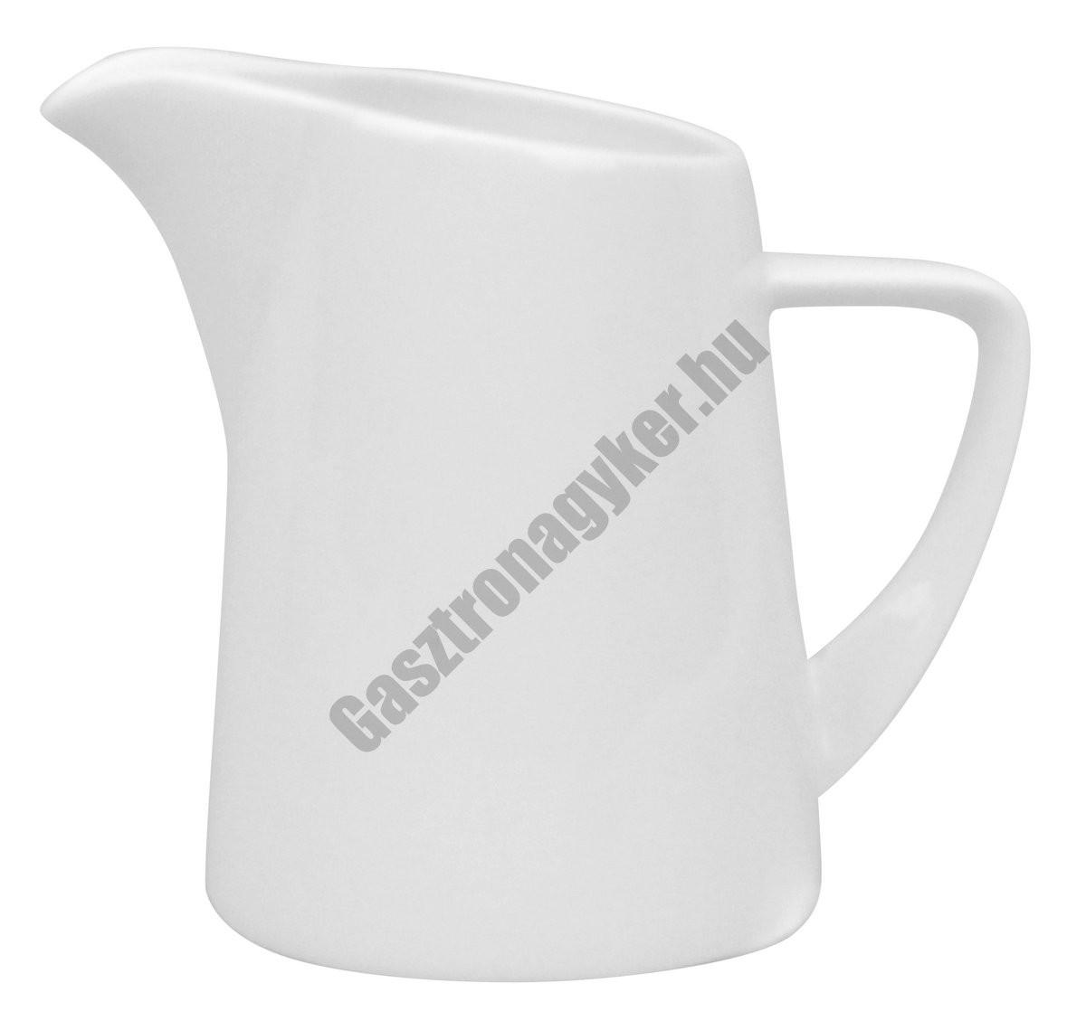 Infinity tejszín kiöntő, négyszögletes, 110 ml, porcelán