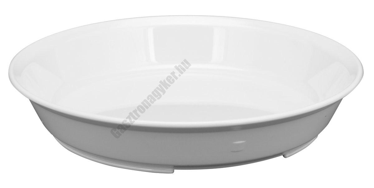 Adagtál-főzelékes tányér 21 cm 0,75 liter, polikarbonát