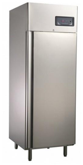 Teleajtós hűtőszekrény 600 l, rozsdamentes külsővel GNC740L1