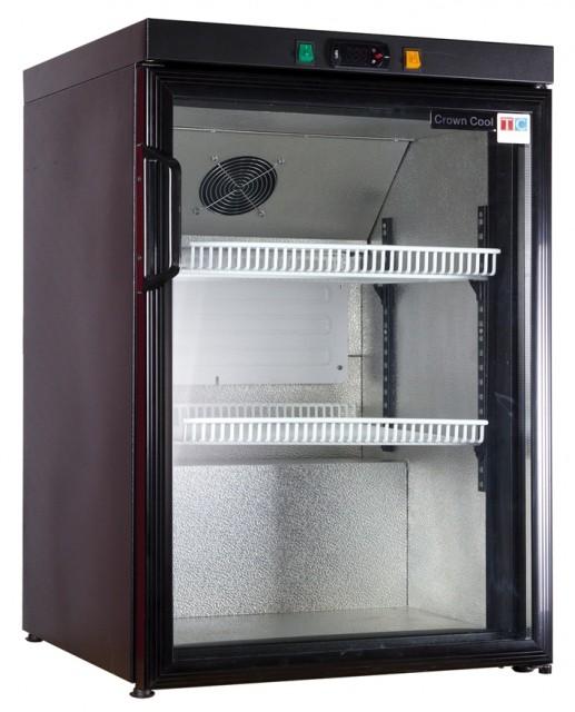 Üvegajtós hűtővitrin 130 literes J-160 GD