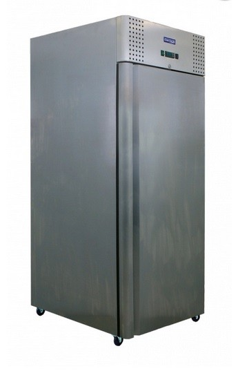 Teleajtós hűtőszekrény 600 l, rozsdamentes külsővel J-600 RM