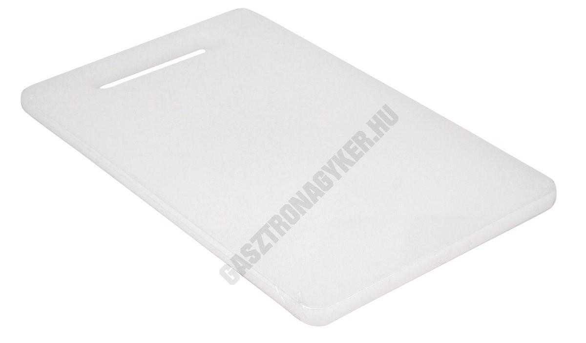 Vágólap, 20x33x1,27 cm, fehér