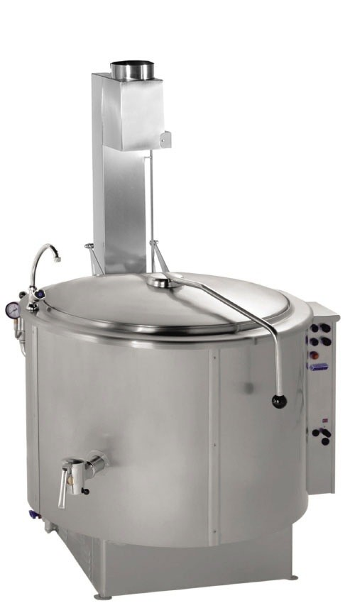 Önállóan telepíthető gázüzemű főzőüst 300 liter GM-RKG-301