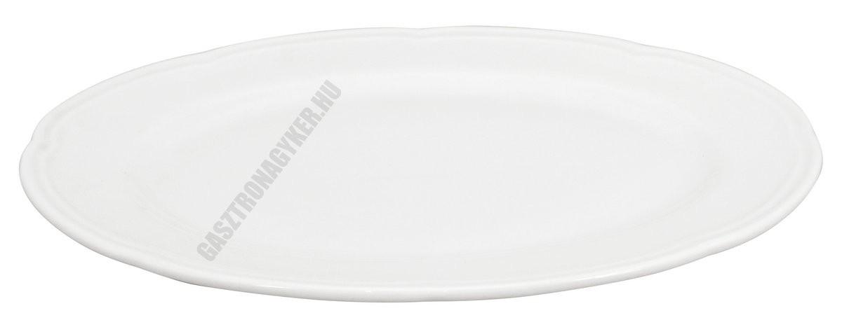 Ouverture ovális sültestál 31,5x22 cm, porcelán