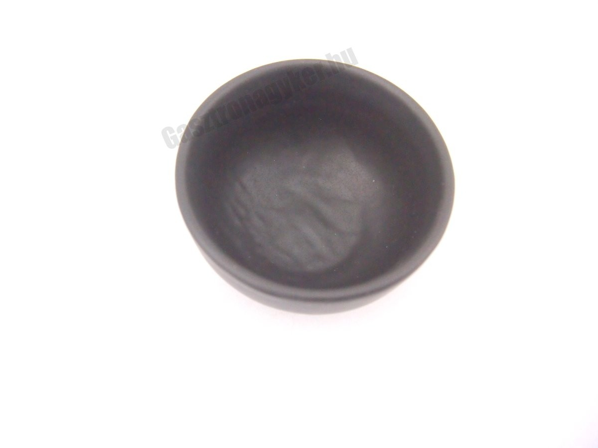 Vulcania fekete gyümölcsös tálka 9 cm, porcelán