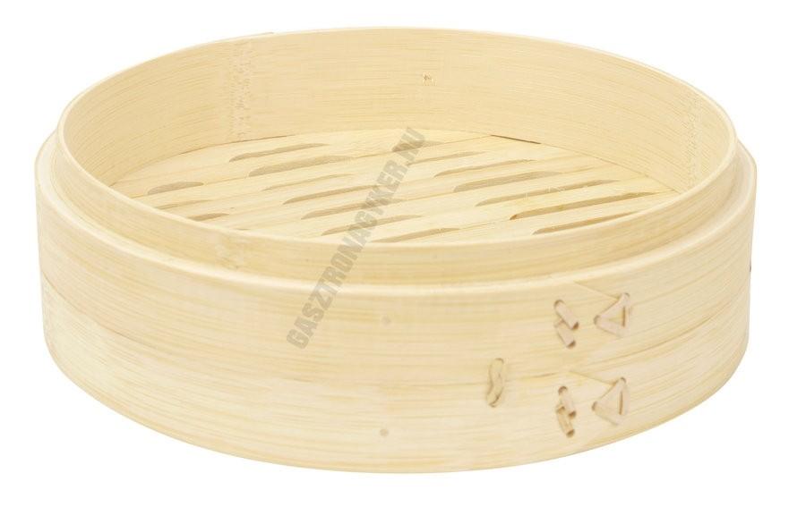 Bambusz pároló fedő nélkül 3,5×19 cm, 6×21 cm