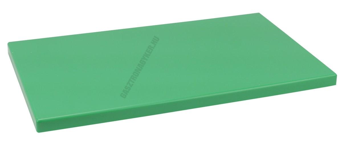Vágólap 30×50×2 cm zöld műanyag 6 gumitalpacskával