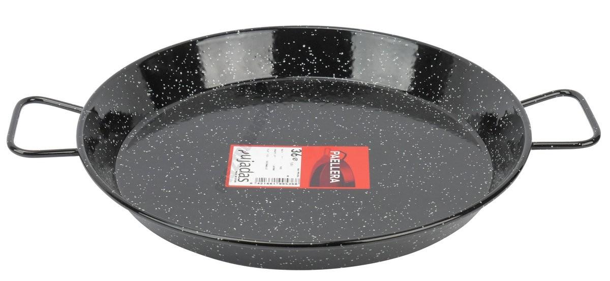 Paella vasserpenyő 36 cm zománcozott