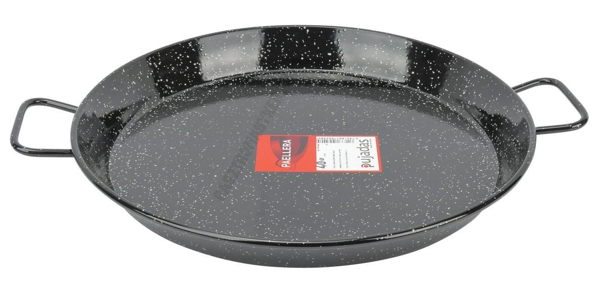 Paella vasserpenyő 40 cm zománcozott
