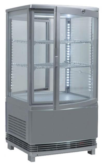 Pultra helyezhető bemutatóvitrin 2 ajtóval RT-58L(2R)