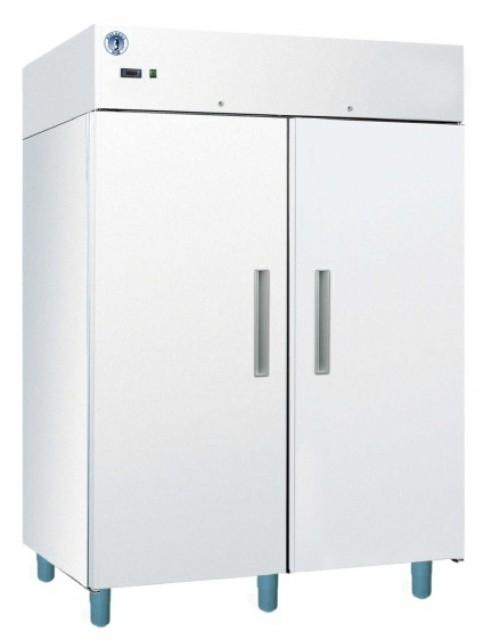 Két teleajtós hűtőszekrény, bruttó 1400 l, fehér festett külsővel ECO C1400