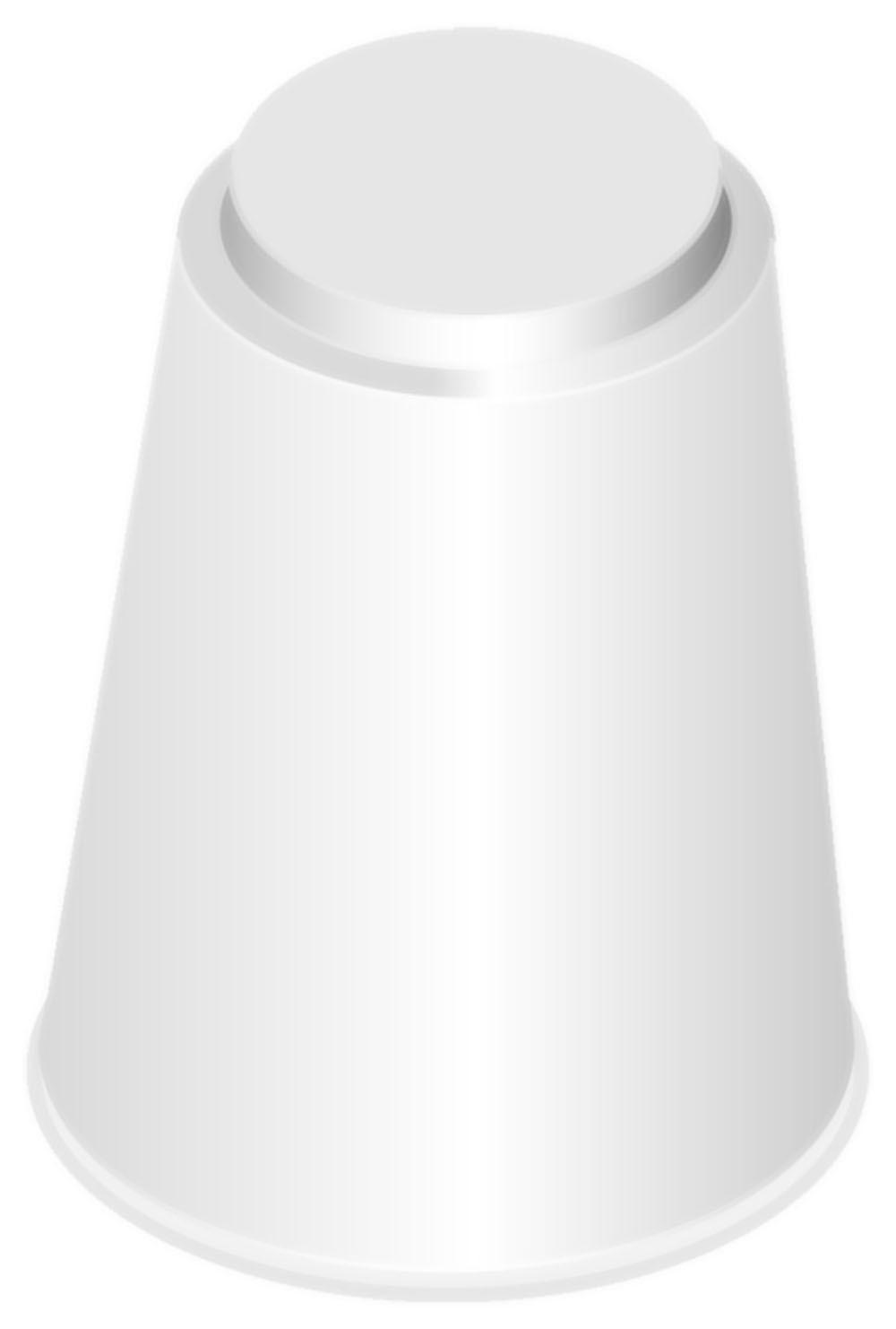 Süteményes állvány talp, H10 cm, melamin