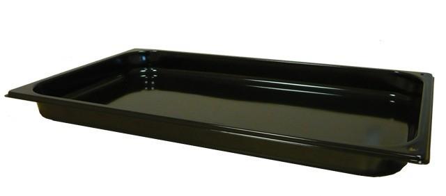 GN edény, 2/1 65 mm, zománcozott