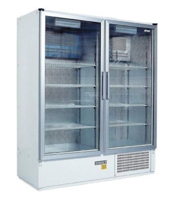 Két üvegajtós hűtővitrin több színben, bruttó 1200 literes SCH 1400 S