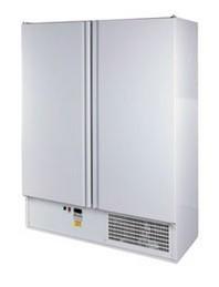 Teleajtós, kétajtós hűtőszekrény 1200 l, rozsdamentes külsővel SCH 1400 INOX
