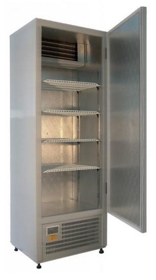 Teleajtós hűtőszekrény 400 l, rozsdamentes külsővel SCH 400 INOX