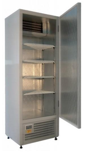 Teleajtós hűtőszekrény 600 l, rozsdamentes külsővel SCH 600 INOX