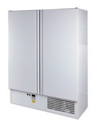 Teleajtós, kétajtós hűtőszekrény 800 l, rozsdamentes külsővel SCH 800 INOX