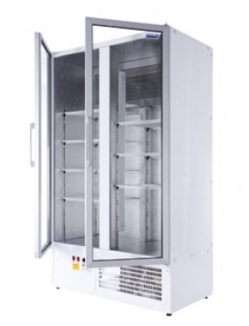 Két üvegajtós hűtővitrin több színben bruttó, 850 literes SCH 800 S