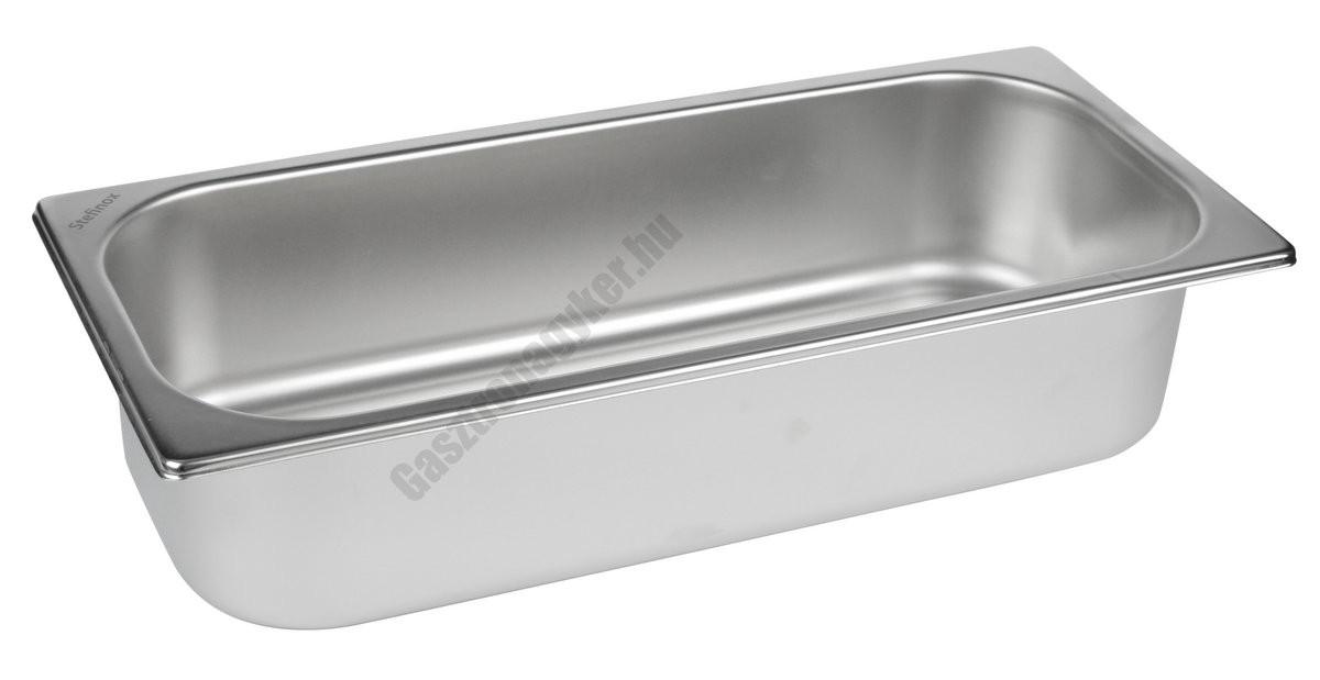 Fagylaltos tégely 360×165×80 mm rozsdamentes