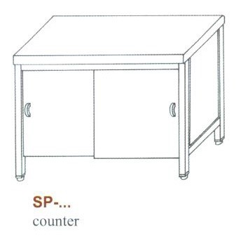 Semleges pult, alul nyitott SP-1200 NY
