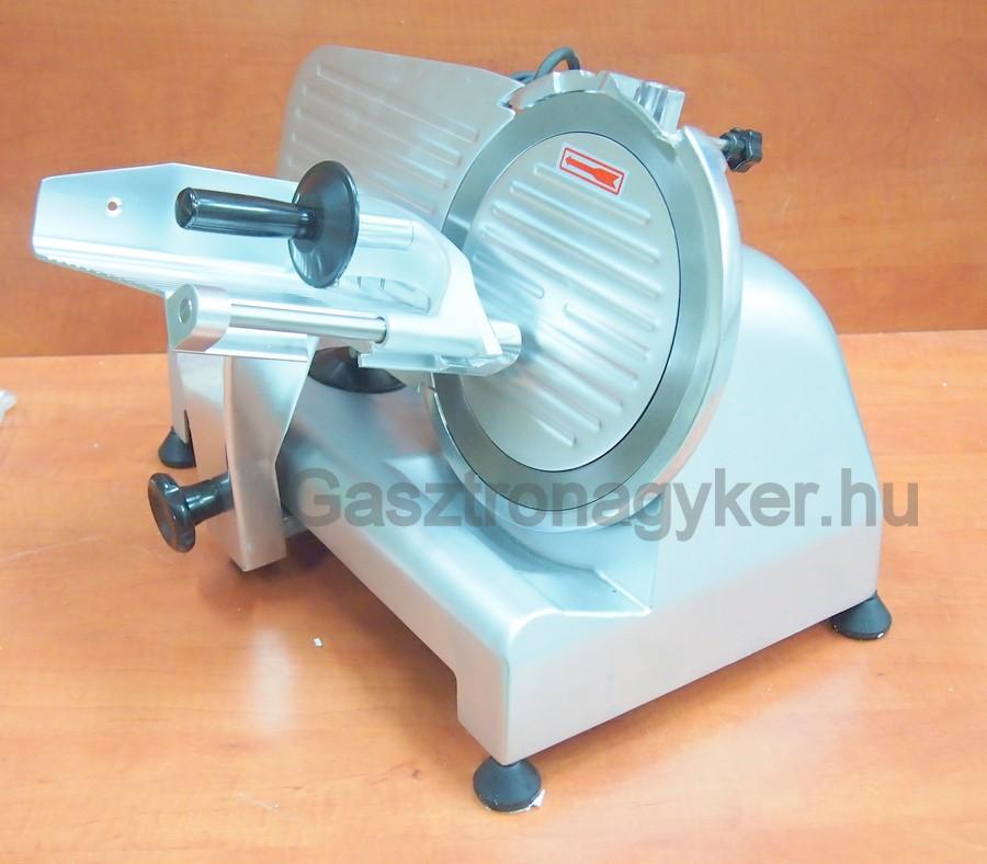 Szeletelőgép 44×35×30 cm, késátmérő 22 cm