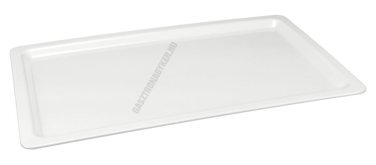 Gn edény 1/1 20 mm (32,5×53×2 cm) fehér melamin