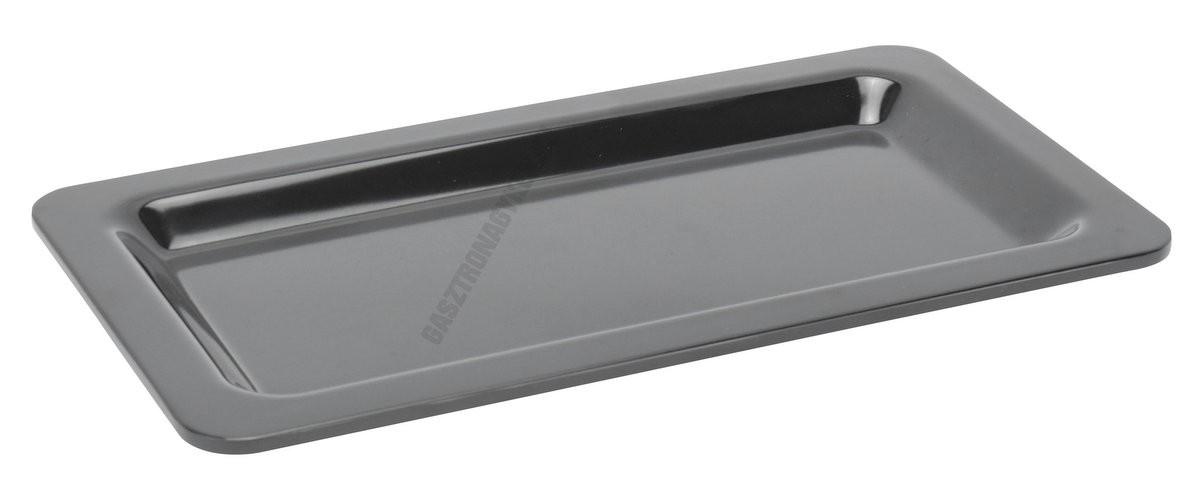 Gn edény 1/3 20 mm (17,6×32,5×2 cm) fekete melamin