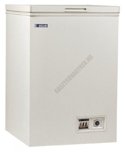 Felnyitható teletetős mélyhűtőláda, 122 liter, UDD 160 BK