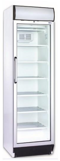 Üvegajtós fagyasztóvitrin 300 l, festett külsővel UDD 370 DTKL