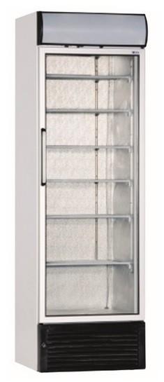Üvegajtós fagyasztóvitrin 480 l, festett külsővel UDD 440 DTKL